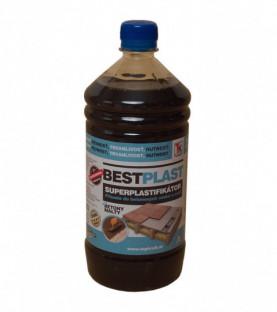 Superplastifikátor do betonů a maltových směsí 1 litr BESTPLAST/1 (balení 12ks)