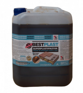 Superplastifikátor do betonů a maltových směsí 5 litr BESTPLAST/5