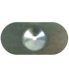 Podložky ovál, pozink 1 mm - na hydroizolační fólie