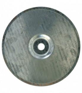 Podložky kulatá, pozink 1 mm - na asfaltové pásy