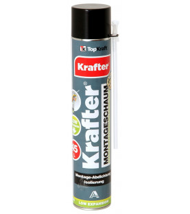 Krafter EASY FOAM pěna trubičková 750ml – nízkoexpanzní