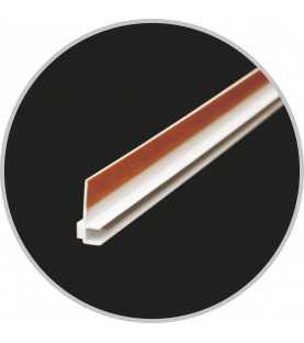Okenní profil s páskou APU6 2,5m