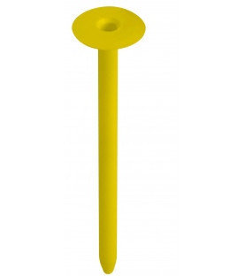 Teleskopická hmoždinka střešní pro šrouby TLW 8,  kruhová polypropylen PTK 105