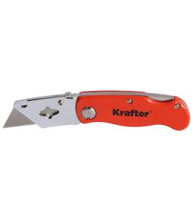 Nůž s trapézovým břitem, zavírací KR11-0036