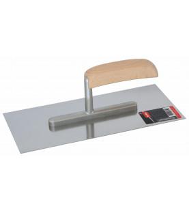 Hladítko nerezové s dřevěnou ručkou 280x130mm KR17-1480