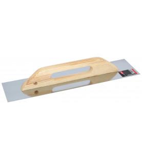 Hladítko nerezové s dřevěnou ručkou 480x130mm KR17-1880