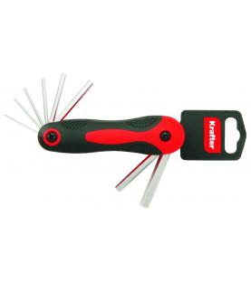 Sada imbusových klíčů 1,5-8mm