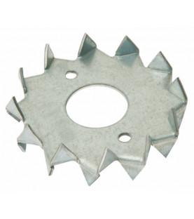 Spojovací růžice (buldog), tloušťka 2mm, 48x12