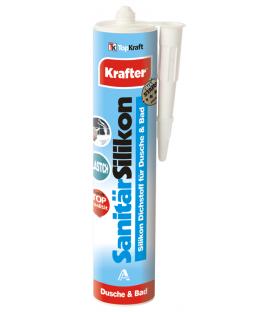 Sanitární silikon bílý KRAFTER KR 21-2020