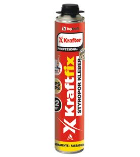 PU pěna na lepení polystyrénu KRAFTFIX  OMEZENÁ NABÍDKA!!!